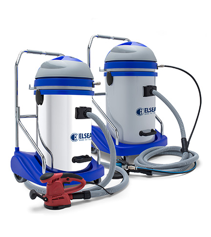 Elect 250b Wet Amp Dry Vacuum Cleaner With Cart For
